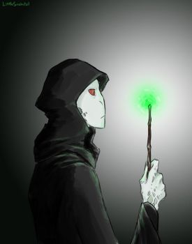 Lord Voldemort by LittleSnaketail