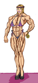 Miss Muscle Spring -2017 contest by Luis3iguel