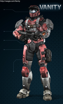 My Spartan from Halo reach by superst