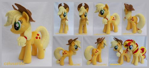 Applejack commission by calusariAC