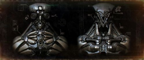 Robot Wallpaper (Dirty version) by panick