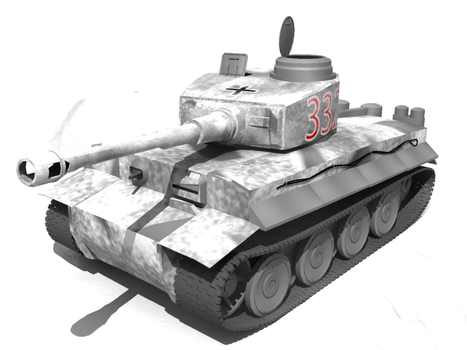 Tiger Tank by eclipsefire
