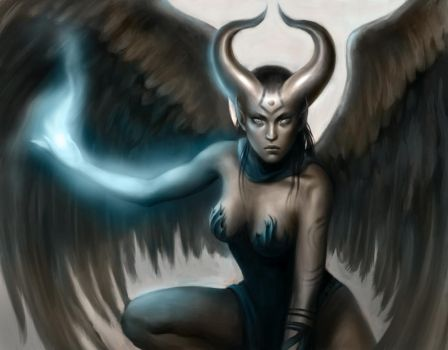 Demon Angel by MeWannaLearn