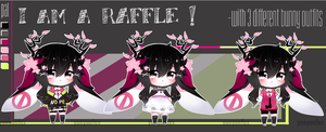 Raffle! ~Easy to enter~ [CLOSED] SakuraBunny by YunYunFox