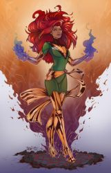 Phoenix - Jean Grey - X-men by scroll142