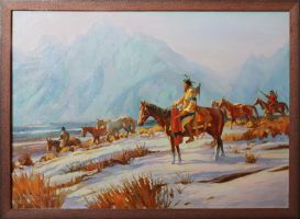 American Indian by 0NlX