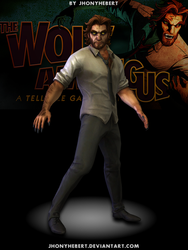 Bigby Wolf (Almost Wolf) - The Wolf Among Us by JhonyHebert