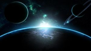 Planet's and Earth (Wallpaper) by Hardii
