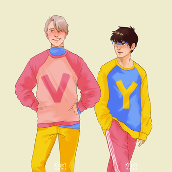soft husbands in soft sweaters by kinkypoptarte