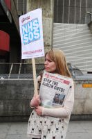 May 18th 2013 - Save the NHS: 36 by LouHartphotography