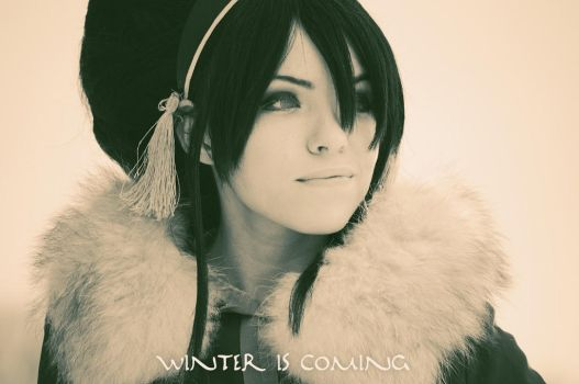 Toph Bei Fong - Winter Is Coming by TophWei