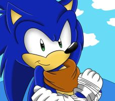 Sonic From Sonic Boom by Shadow4one