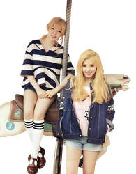 PNG RED VELVET WENDY, IRENE - CECI KOREA MAY ISSUE by YinDao