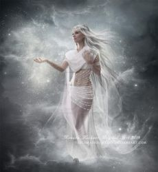Astral Angel by ThelemaDreamsArt