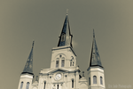 St. Louis Cathedral in Retrospective by FrozenCreekStudios