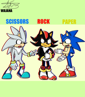 Rock Paper Scissors by wajana-the-artist