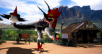MMD Newcomer Ultimasaurus + DL by Valforwing