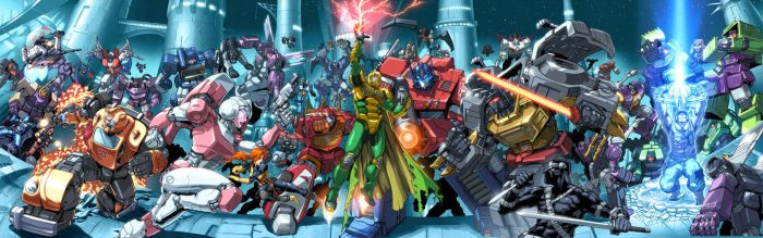 G.I.Joe vs Transformers by UdonCrew