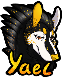 (badge) Yael by LindsayPrower