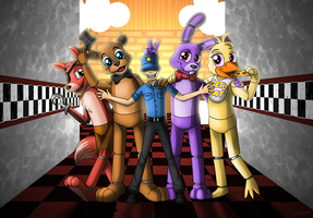 Five Nights of Fun by NatLeo