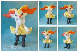 Braixen custom plush