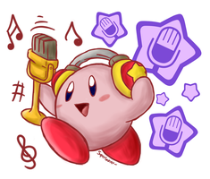 AT: Look my microphone! by BoxBird