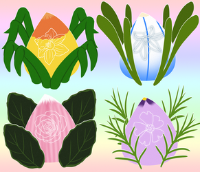 Spring Flowers Floralling Mystery Adopts CLOSED by Prismativity