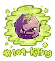 109 - Koffing by oddsocket