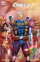 Cable and The New Mutants 150 color by le0arts