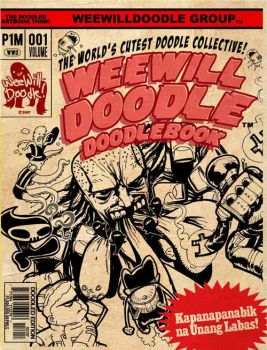 WeeWillDoodle DoodleBook Book1 by NELZ