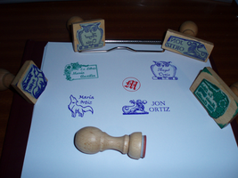 Ex libris Stamp Commisions opened by Ishtar-Creations
