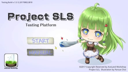 [Video] Project SLS First Prototype [2017-08-02] by ParsueChoi