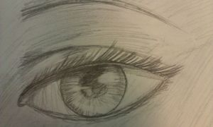 Realistic Eye by Ahtilak
