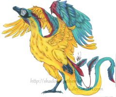 Macaw Dragon by JetHero13