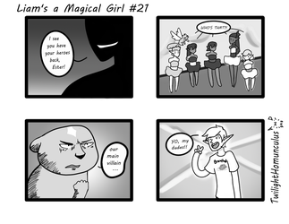 Liam's a Magical Girl #21 by TwilightHomunculus