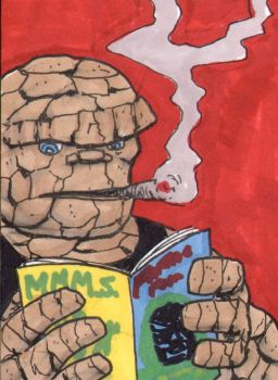 The Thing Sketch Card - ECCC 2018 by pjperez
