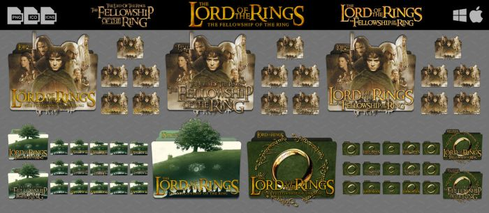 The Lord of The Rings The Fellowship of The Ring by DhrisJ