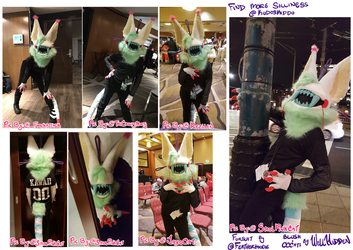 {P} Blush Fursuit Fun! by WellHidden