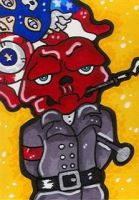 Red Skull and Captain America by CassieJ787