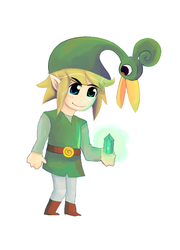 002 Link con gorro by Spades-Blackmontt