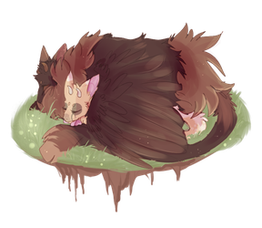 Sweet Dreams.. Trico|Oxy and Cream by VictoriaTory2020