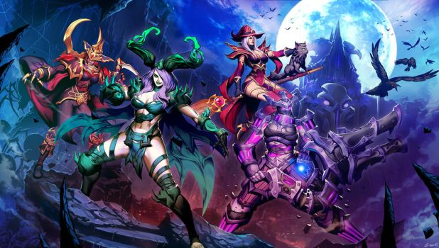 Heroes of the Storm by GENZOMAN