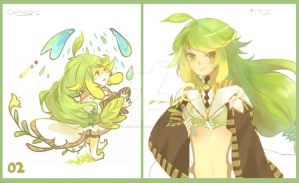 02-Grass Alchemist-closed adoptable-THANK YOU by Re-SilverFlare