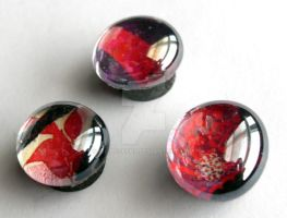 Deep Red Magnet Set by WildeGeeks