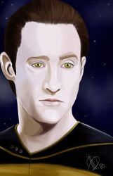 Star Trek The Next Generation -  Mr Data by AlexaWayne