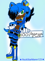 1001 deviantion! yay.... by RockStarMaren123