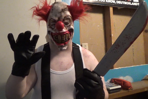 Sweet Tooth Cosplay (Twisted Metal) by TwistedDarkJustin