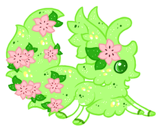 Shaymin Based Faekli RE-Auction (CLOSED) by SparklyMage