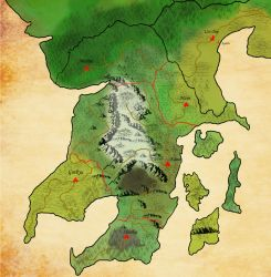 Map of the human kingdom 01 by Queen-FenrisUlfr