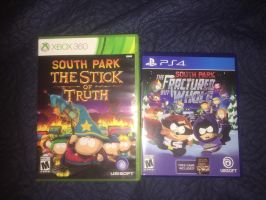 South Park Game Collection by SP-Goji-Fan